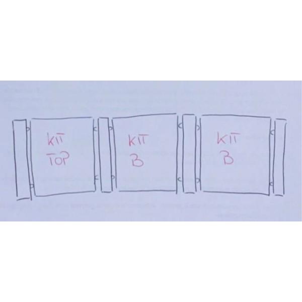 Separatore da bancone - KIT TOP 03